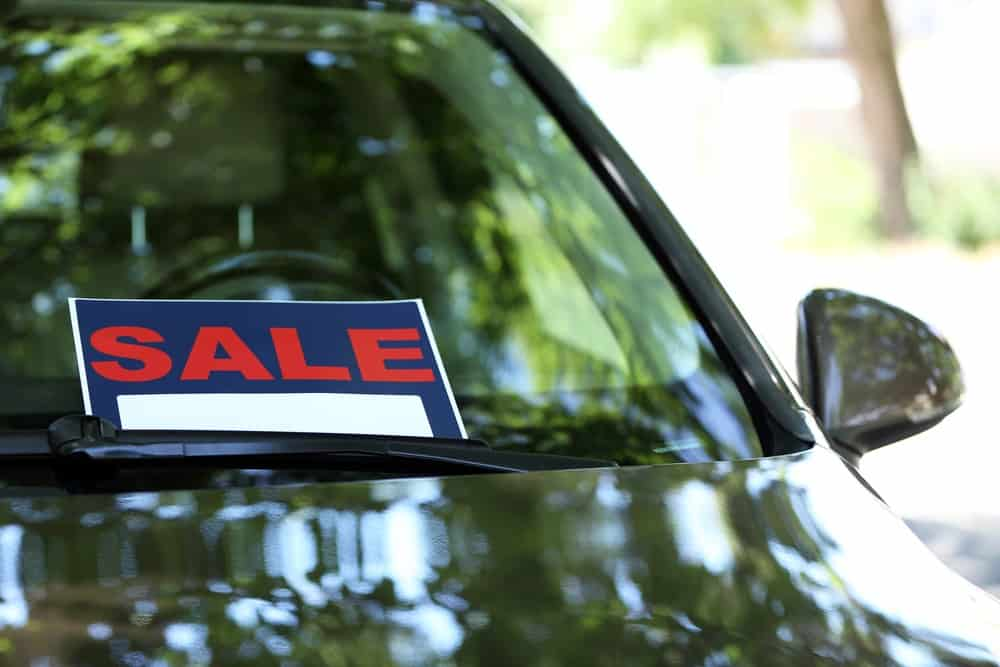 Selling your car privately